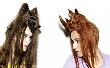 Furry Hairstyles? I am attracted by the foxy one on the left,