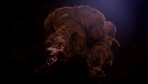 Wampus Beast Mountain Monsters The bear beast... wampus