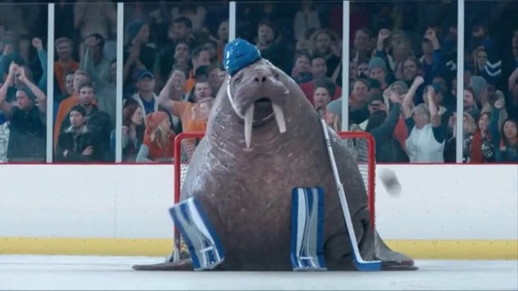 The Geico Walrus Goalie Commercial Foxsylvania